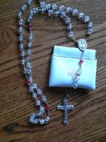 .:Finished:. Rosary by wittlecabbage