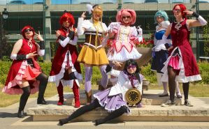 SWAG Puella Magi Madoka Magica group by Cory-Hate