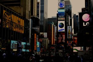 Times Square by LabsOfAwesome