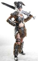 Female Dovahkiin cosplay from Skyrim Calypsen by Calypsen