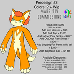 PreDesign Costume/Fursuit #3 by mars714