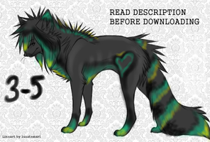 scene wolf Adopt by CanineCriminal