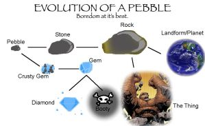 Evolution of a Pebble... by The-Void-Skull