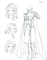 Character Sketch - Ranger by Morgaine-le-Fay