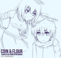 .: Coin and Flour :. by adobongsiopao