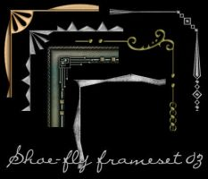 Paint Shop Pro frame set 03 by shoe-fly