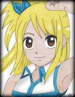 Lucy Heartfilia by Oskar-Draws