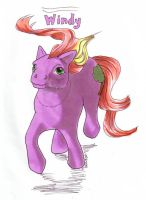 My little pony windy by andpie