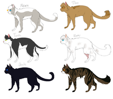Cat 157E charactor preview by Please-be-careful