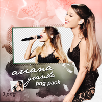PNG PACK (111) Ariana Grande by DenizBas