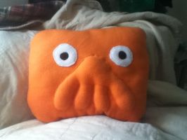 Zoidberg Pillow by GreenSleazy