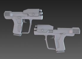 Halo 3 Magnum by martynball