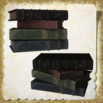 Old Books Pack by Just-A-Little-Knotty