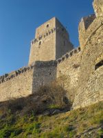 fortress in assisi by oukamiyoukai45