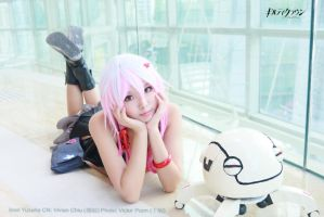 Guilty Crown Inori Yuzuriha Cosplay 09 with fyu-ne by multipack223