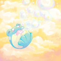 Bubbly Clouds by crayon-chewer