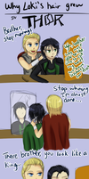 :Loki: Why his hair grew by Weaslegirl96