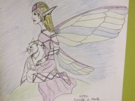 Fairy and her Cat by ShadowOrder7