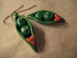Two peas in a pod by evililchic54