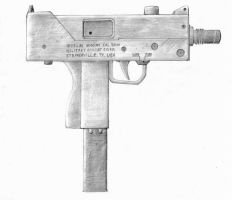 Ingram Mac 10 (M-10) by Vayneik
