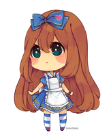 Mini Chibi: Alice Liddell by Mochiaa