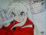 Inuyasha and Sesshomaru by Tonnie95