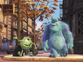WallPaper Monster Inc by Isfe
