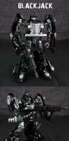 Decepticon Blackjack by Jin-Saotome