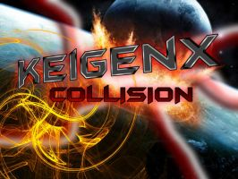 Keigenx Collision Poster Art by Keigenx