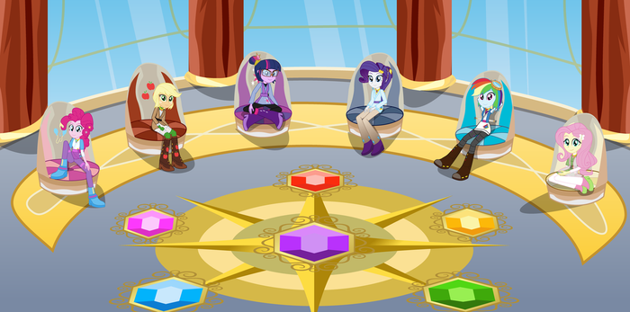 The Council of Harmony by Amante56