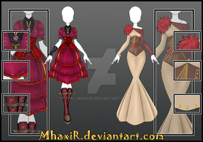 [CLOSED] Design Adopt Outfit - 25 by MhaxiR