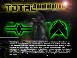 Total Annihilation game by NekoReaperX