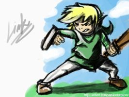 Link ( W.I.P ) by calvin-trane