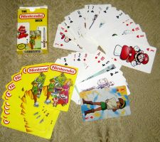 Vintage The Nintendo Deck Playing Cards by avaneshop
