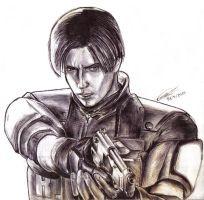 Leon Kennedy_Resident Evil by BlackSheep3000