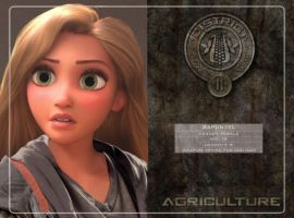Rapunzel in Hunger Games by Fate221