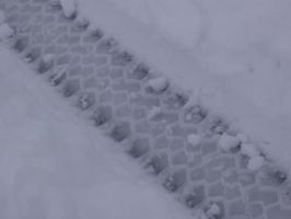 Tire Tracks by TomRedlion