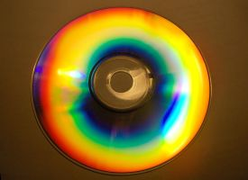 Play with CD and light by Romenka