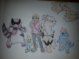 RP Pokemon Team by maxst5011