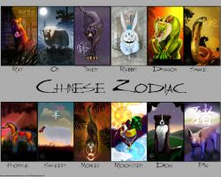 Chinese Zodiac Wallpaper by carnivalcat
