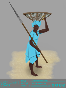 Tribal-fisherman---watermark by savannagrey