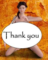 Thanks You V1 by beedoll