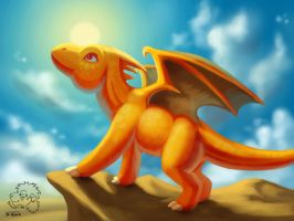 Sun Dragon by jrtracey