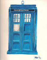 The Tardis by TheDeliverater