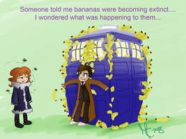 Bananas becoming extinct -DW by KittyMira