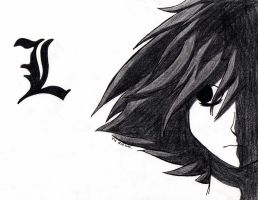 Death Note: L by TiaVon