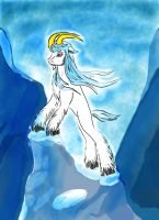 Gaeaf Bergaklov - MLP Mountain Goat by BlueDevilHunter
