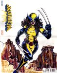All New Wolverine sketchcover Sierra verson by hdub7