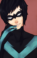 nightwing by battlerobots