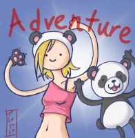 Adventure time with Penny and Peter by SESHOYASHAJUNIOR